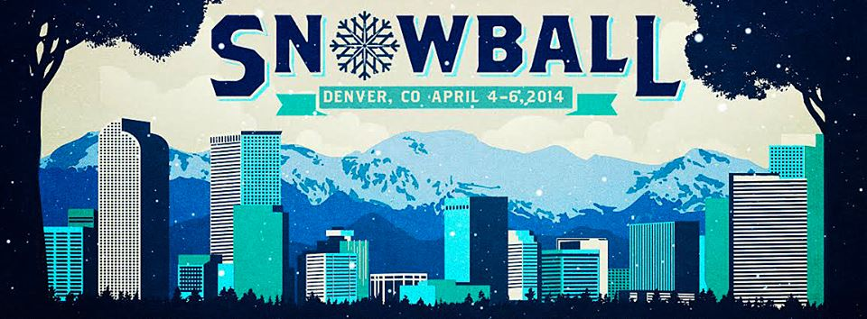 SnowBall Rolls Back to Denver April 4 – 6