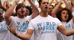 World Be Free Campaign Uniting People Through Music To End Global Poverty